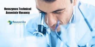 Novozymes Technical Associate Vacancy 2020 – Apply Online