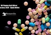 RB Pharma R&D Officer Vacancy 2020 - Apply Online
