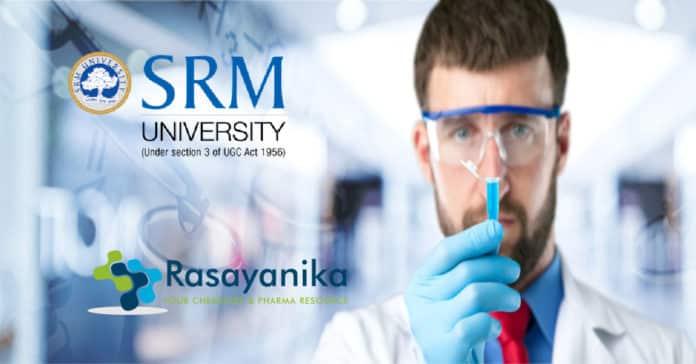 SRM PhD Chemistry Job Opening - Salary Rs 49,000/- pm