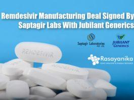 Saptagir Labs & Jubilant Generics Collaborate