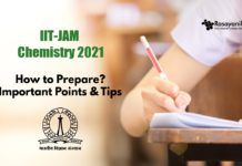how to prepare for IIT JAM Chemistry