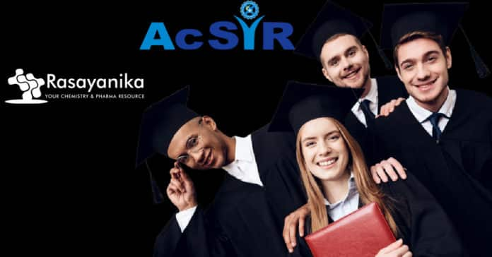 AcSIR Chemical Science PhD Admission 2021 - Applications Invited