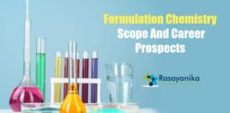 Formulation Chemistry Career