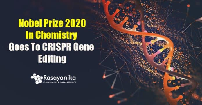 Nobel prize in chemistry