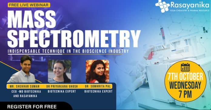Webinar On Mass Spectrometry