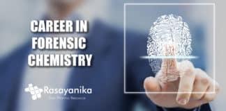 Career inForensic Chemistry