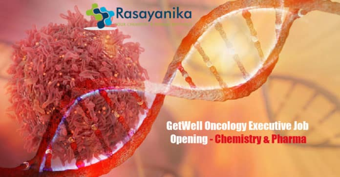 GetWell Oncology Executive Job Opening - Chemistry & Pharma