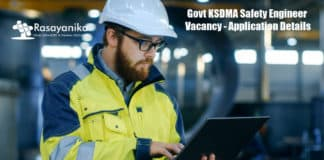 Govt KSDMA Safety Engineer Vacancy - Application Details