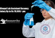 IISER Bhopal Lab Assistant Vacancy - Salary Up to Rs 70,000/- pm