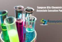 Syngene BSc Chemistry Job - Associate Executive Purchase