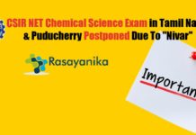 CSIR NET Chemical Science