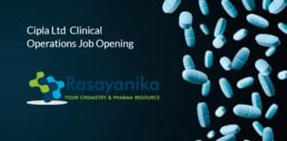 Cipla Ltd Pharma Clinical Operations Job Opening - Apply Online