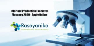 Clariant Production Executive Vacancy 2020 - Apply Online