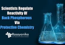 Manipulating reactivity of black phosphorous