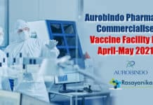 Commercializing COVID-19 vaccine facility