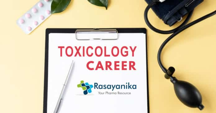 Career in Toxicology