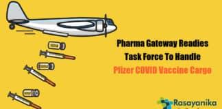 COVID-19 vaccine cargo