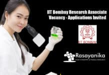 IIT Bombay Research Associate Vacancy - Applications Invited