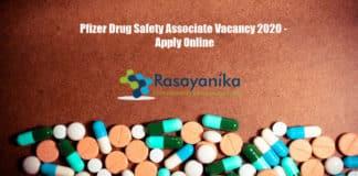 Pfizer Drug Safety Associate Vacancy 2020 - Apply Online