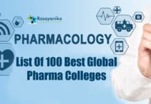 100 Best Global Pharma colleges