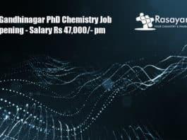 IIT Gandhinagar PhD Chemistry Job Opening - Application Details