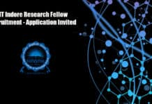 IIT Indore Research Fellow Recruitment - Application Invited