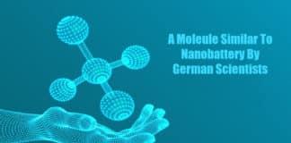 Nanobattery Like Molecule
