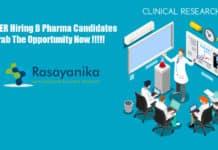 PGIMER Clinical Research Coordinator Recruitment - Application details