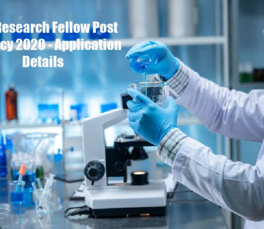 RCB Research Fellow Post Vacancy 2020 - Application Details