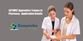 SCTIMST Apprentice Trainee in Pharmacy - Application Details