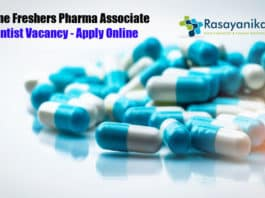 Syngene Freshers Pharma Associate Scientist Vacancy - Apply Online