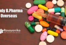 Study B.Pharma Abroad