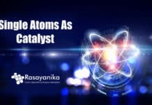 Single atoms as a catalyst