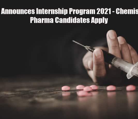NDTL Announces Internship Program 2021 - Chemistry & Pharma Candidates Apply
