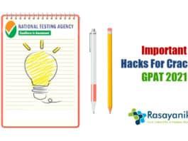GPAT Exam Preparation Tips