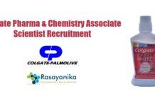 Colgate Pharma & Chemistry