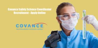 Covance Safety Science Coordinator Recruitment - Apply Online