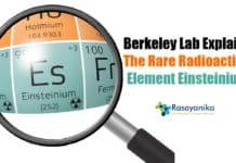 Einsteinium Experiments By Berkeley Lab