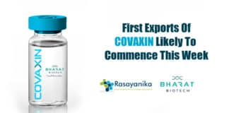 First exports of India's COVID19 vaccine