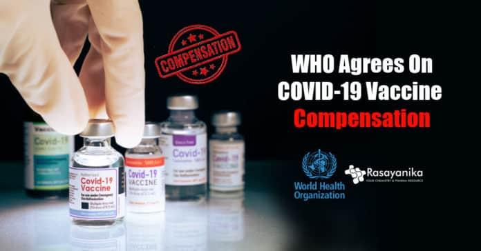 WHO to launch COVID-19 vaccine compensation