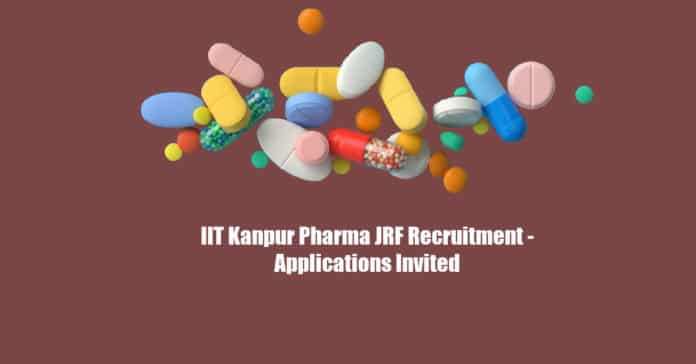 IIT Kanpur Pharma JRF Recruitment - Applications Invited