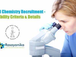 JNCASR Chemistry Recruitment