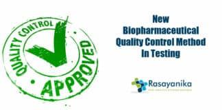 New biopharmaceutical quality control method