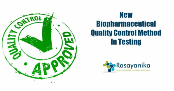 New biopharmaceutical quality control method
