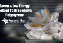 Green Technology To Breakdown Polystyrene