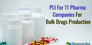 PLI for 11 Pharmaceutical Companies: 11 drug makers to produce bulk drugs under the scheme