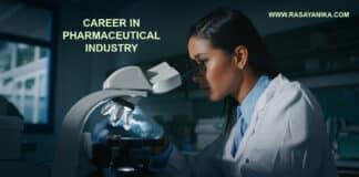 Career in Pharmaceutical Industry