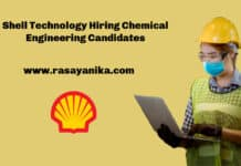 Shell Technology Data Engineer Vacancy - Chemical Engineering