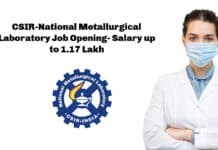 CSIR-National Metallurgical Laboratory