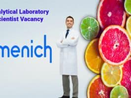 Firmenich Chemistry Analytical Laboratory Scientist Vacancy - Apply Online